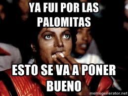Michael Jackson palomitas
